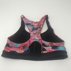 lululemon athletica Intimates & Sleepwear - Lululemon Top Speed Bra Secret Garden Floral Sz 4